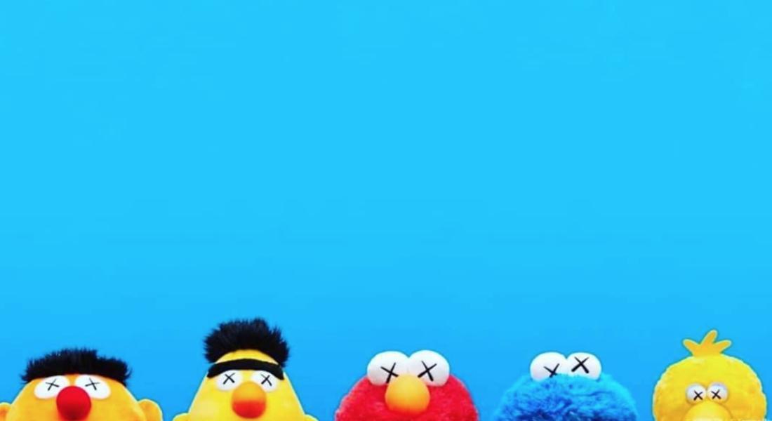 KAWS Sesame Street Uniqlo