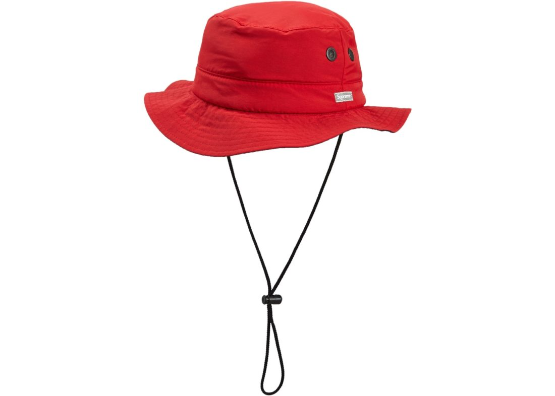 Supreme Contrast Boonie Red - StockX News 4ffc5185e007
