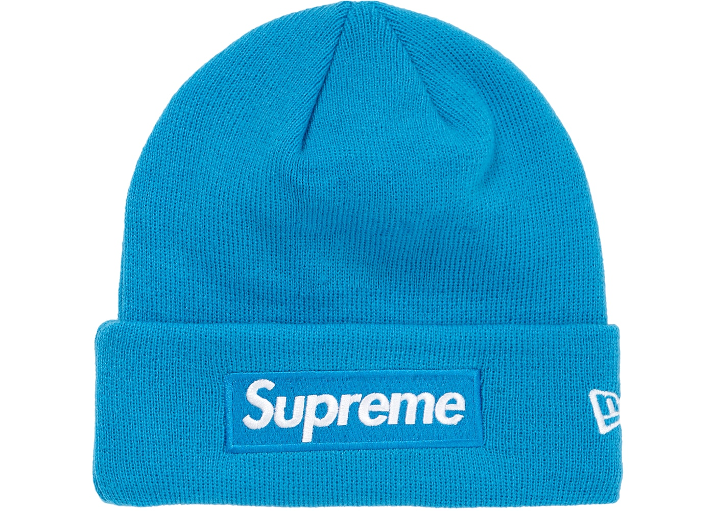 Supreme New Era Box Logo Beanie (FW18) Bright Royal - FW18 22770d48d4f