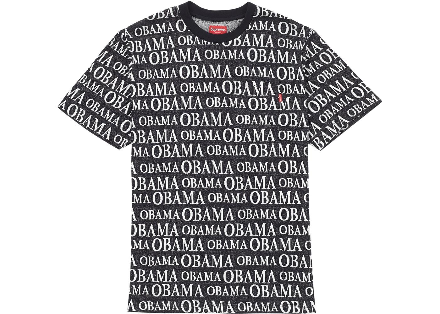 8ef661ac Supreme Obama Jacquard S/S Top Black - FW18