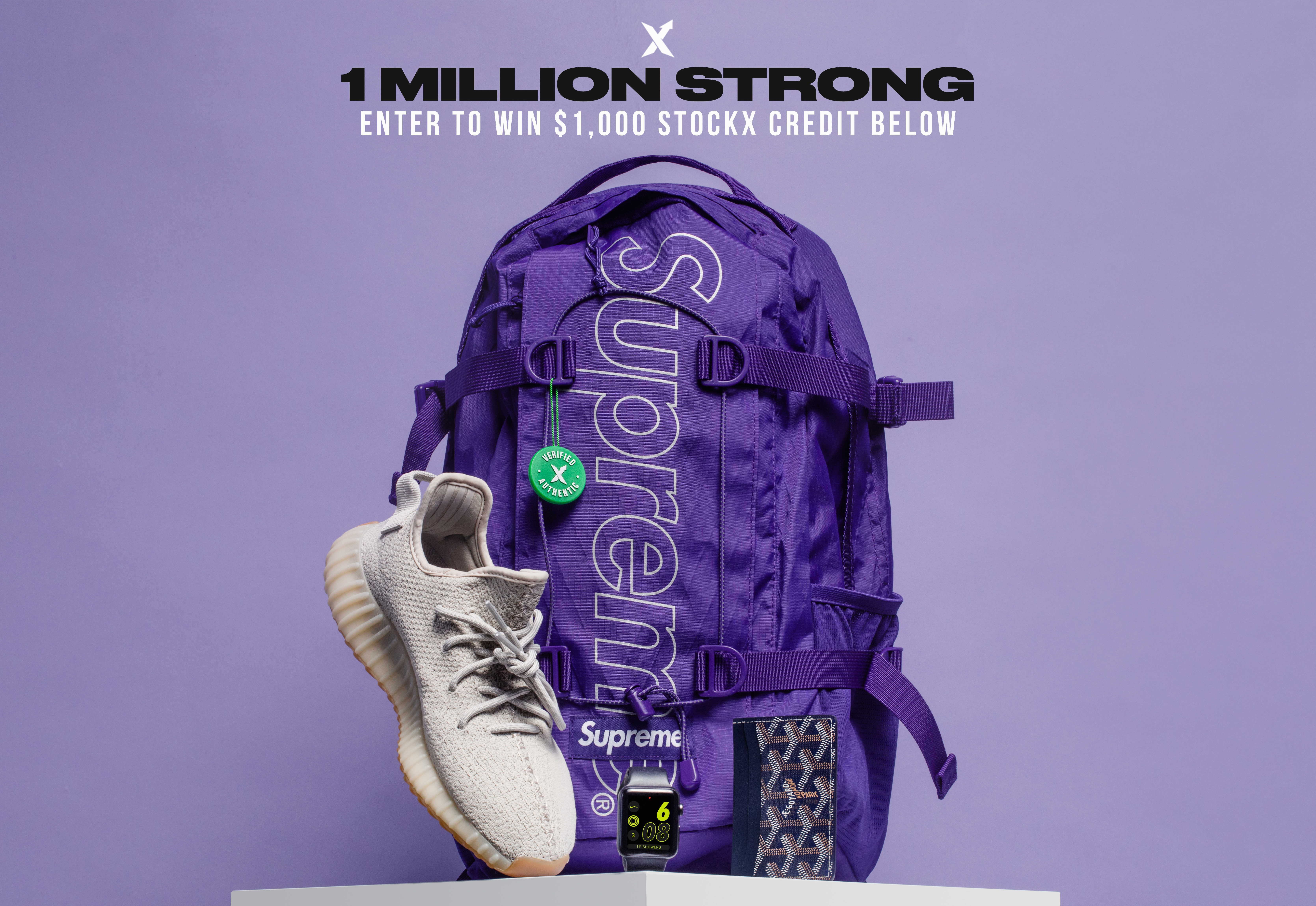 1532f97d 1 Million Strong: $1,000 StockX Credit Giveaway - StockX News