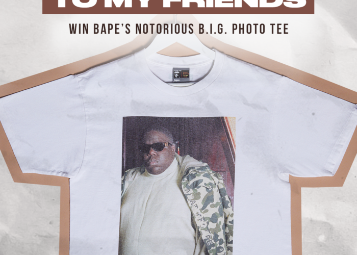 StockX Select: Win BAPE's Notorious B.I.G. Photo Tee