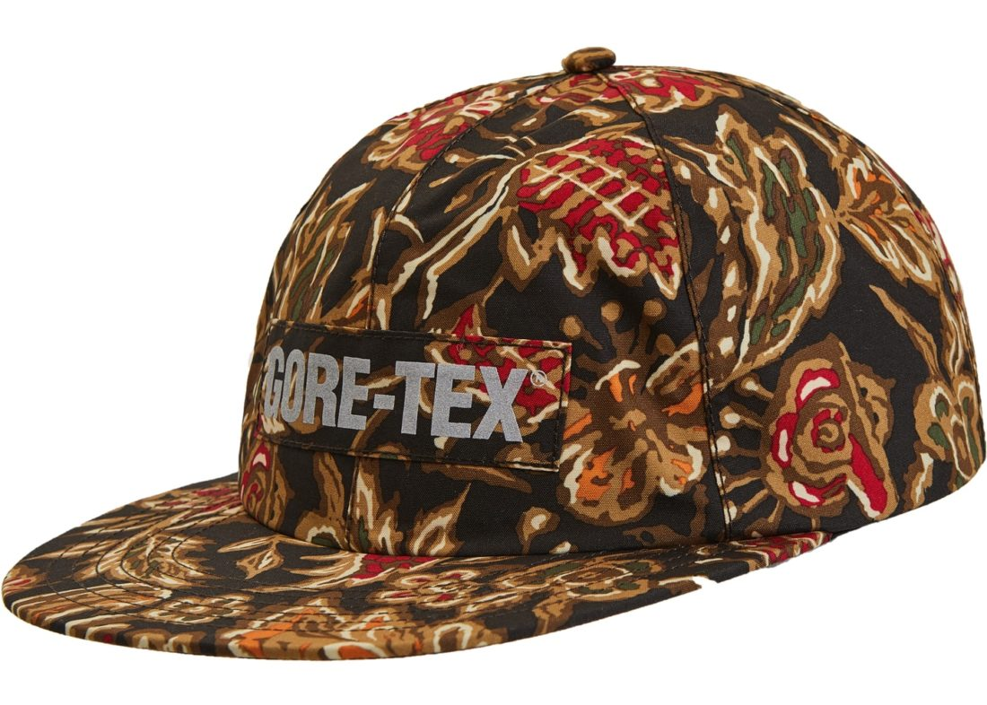 57705323 Supreme Gore-Tex 6-Panel Hat Flower Print - StockX News