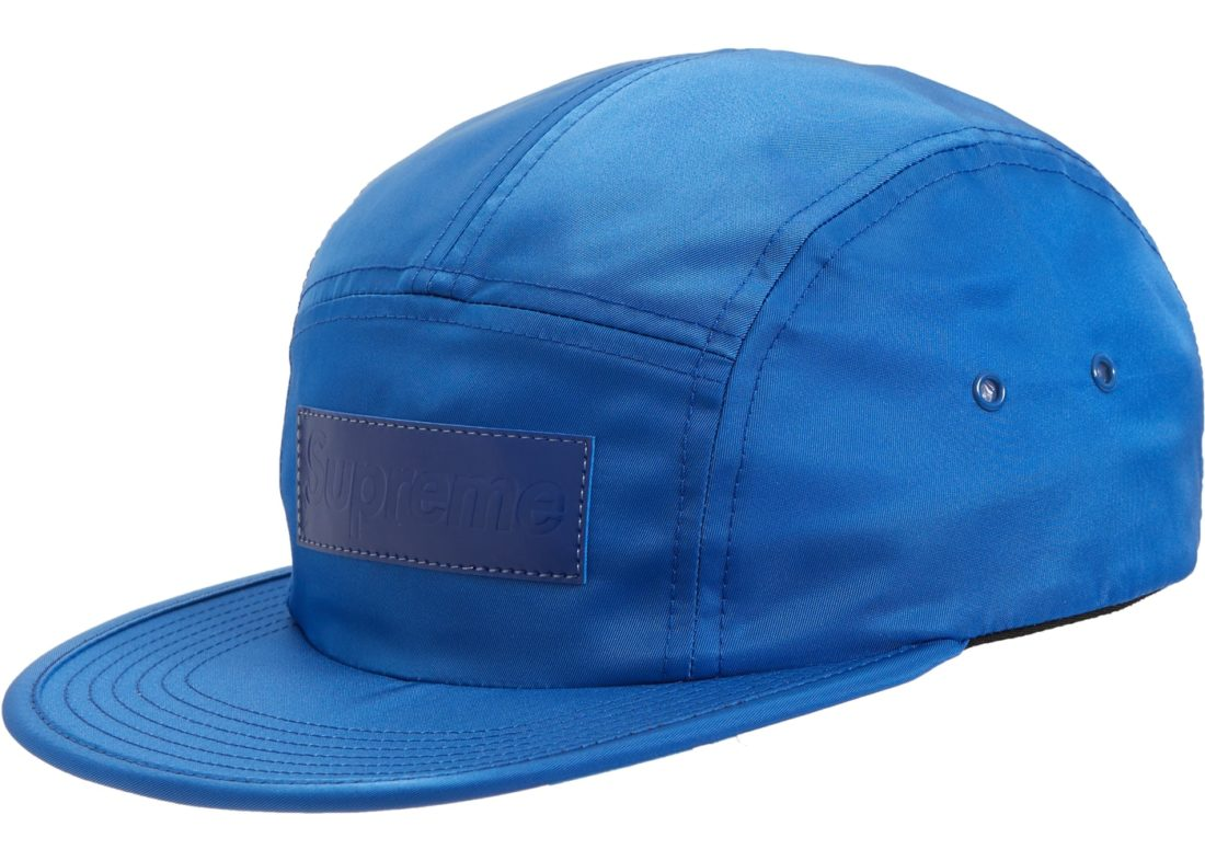 1aab4a90a36 Supreme Patent Leather Patch Camp Cap Royal - StockX News