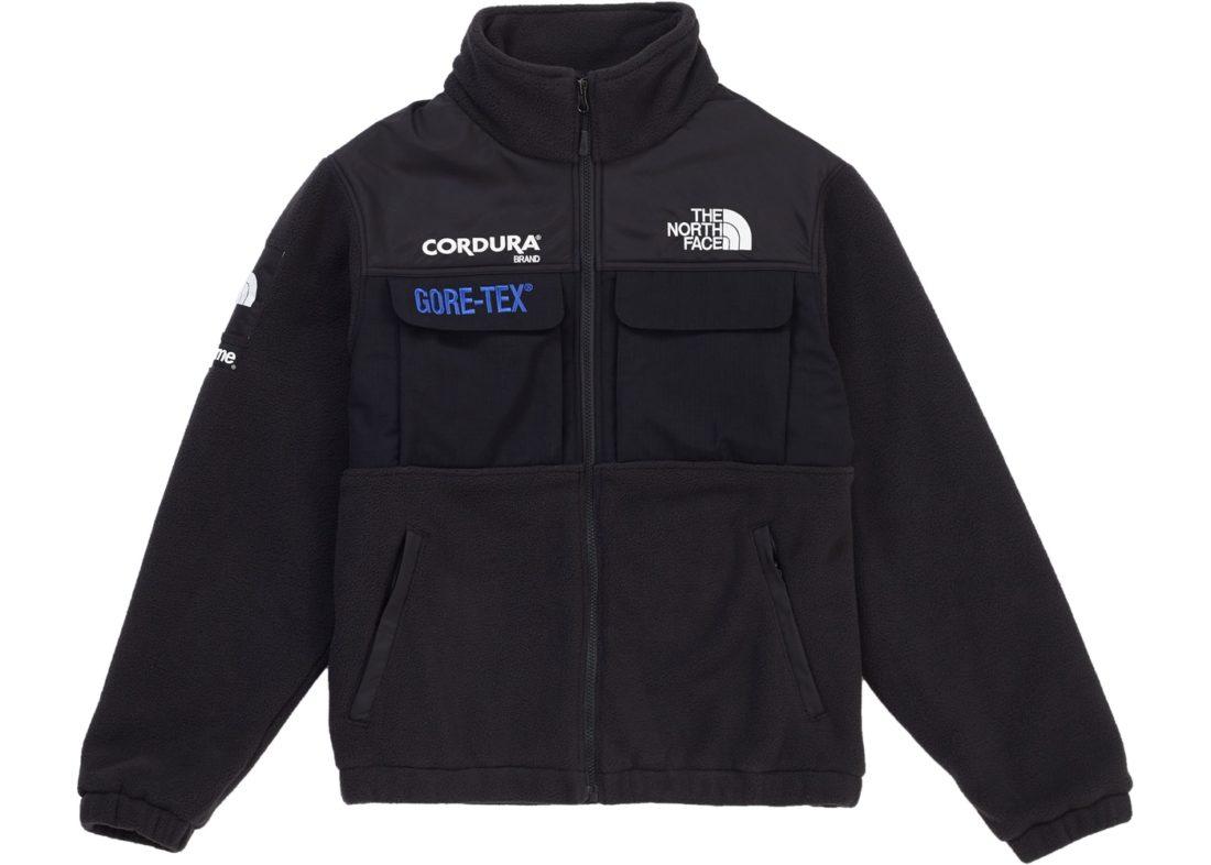 große Auswahl an Farben und Designs super service Brauch Supreme The North Face Expedition Fleece (FW18) Jacket Black