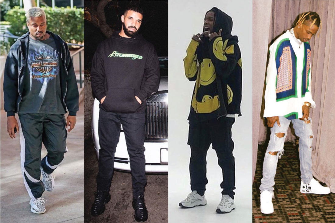 StockX Two-Way Players: Drake, Rocky, Travis, West