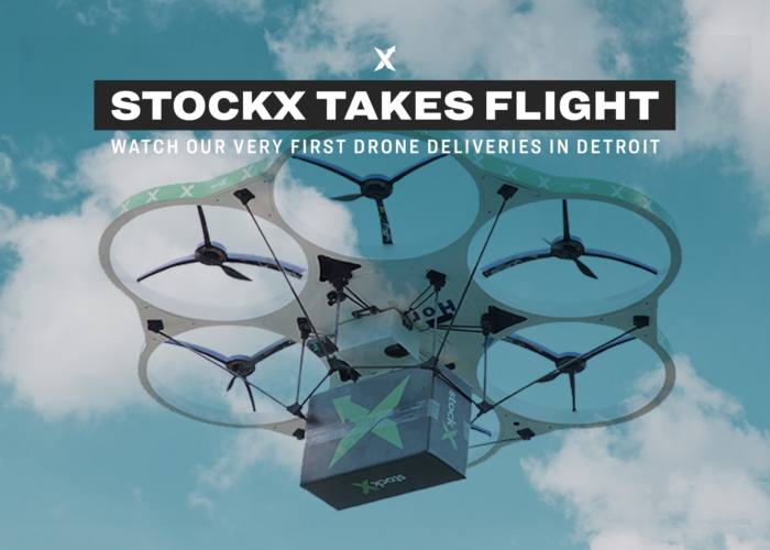 StockX Drone Delivery