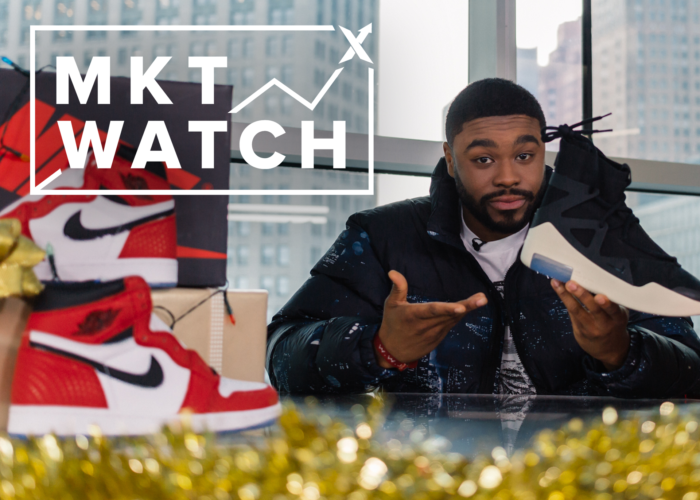 StockX MKT WATCH: Spider-Man Origin Story 1s, Jerry Lorenzo's Fear of God Nikes, and Supreme's Santa