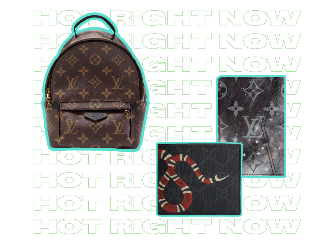 1f7b4aabdbfd1b Highlights included Louis Vuitton's newly released outer space-inspired  Monogram Galaxy collection as seen on this ...