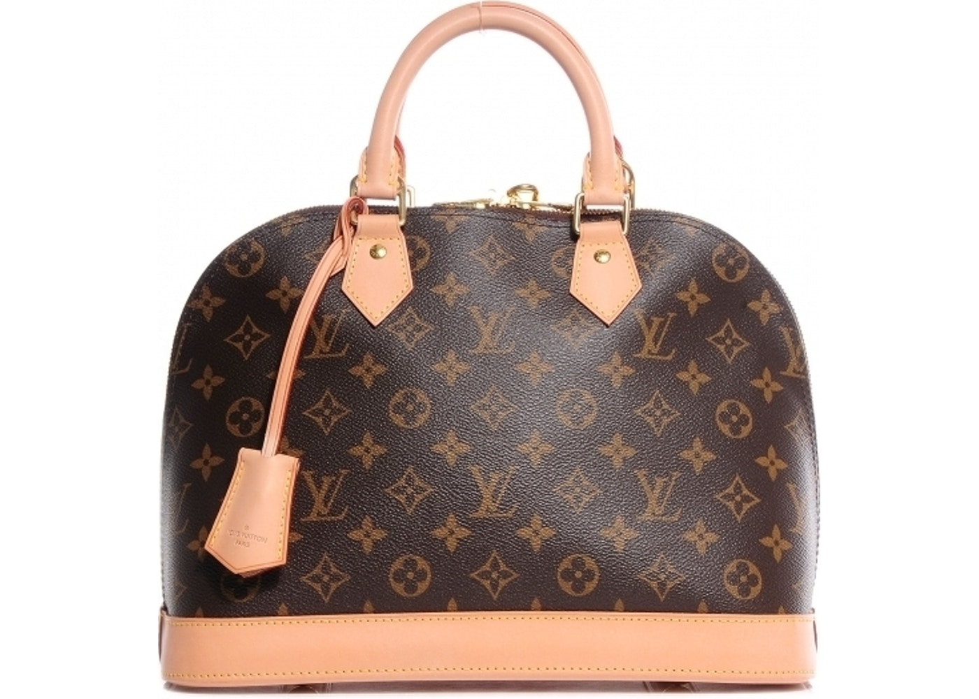 9cbe41be6343 Louis Vuitton Alma PM Monogram Brown
