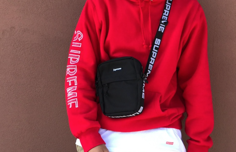 Supreme Shoulder Bag Ss18 Black