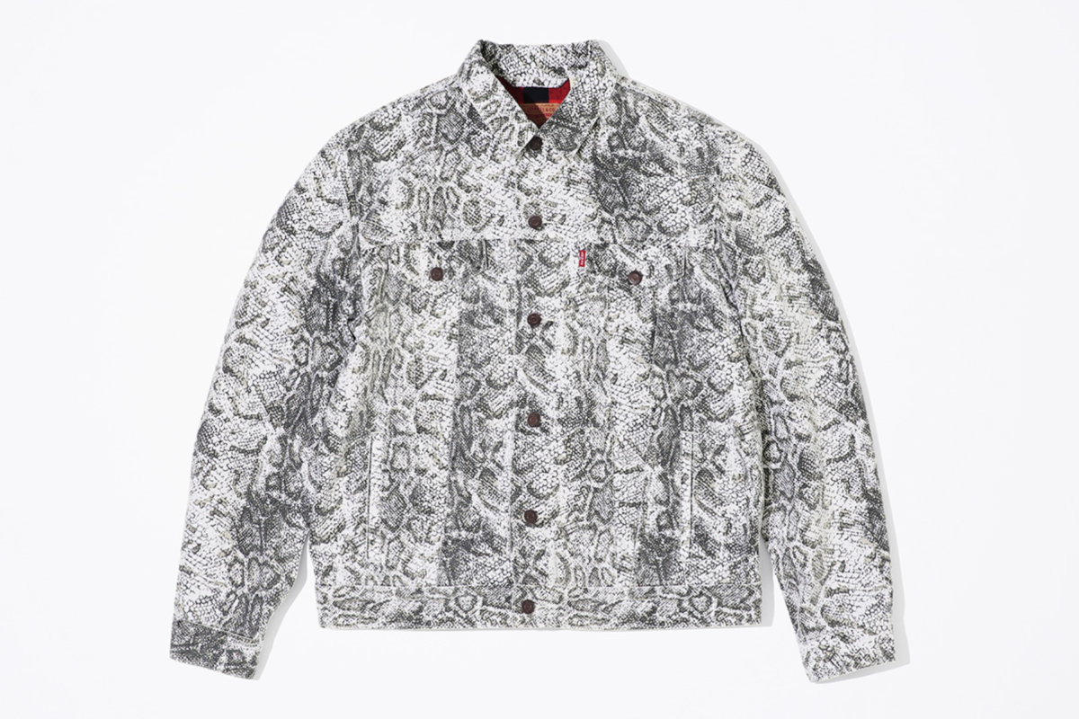 caeea15d For their 2017 Fall/Winter installation, Supreme x Levi's released one of  their smaller capsules. Featuring three colorways of a trucker jacket and  pair of ...