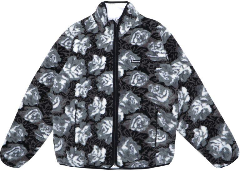 roses sherpa jacket