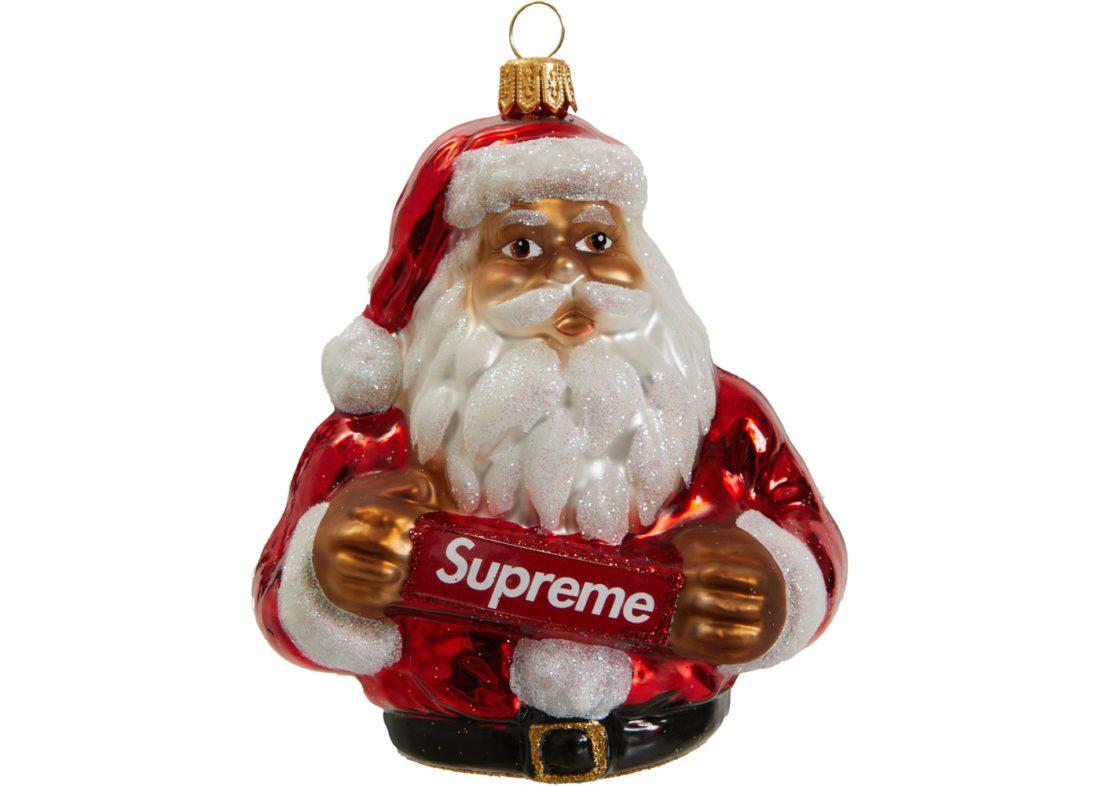 supreme santa ornament