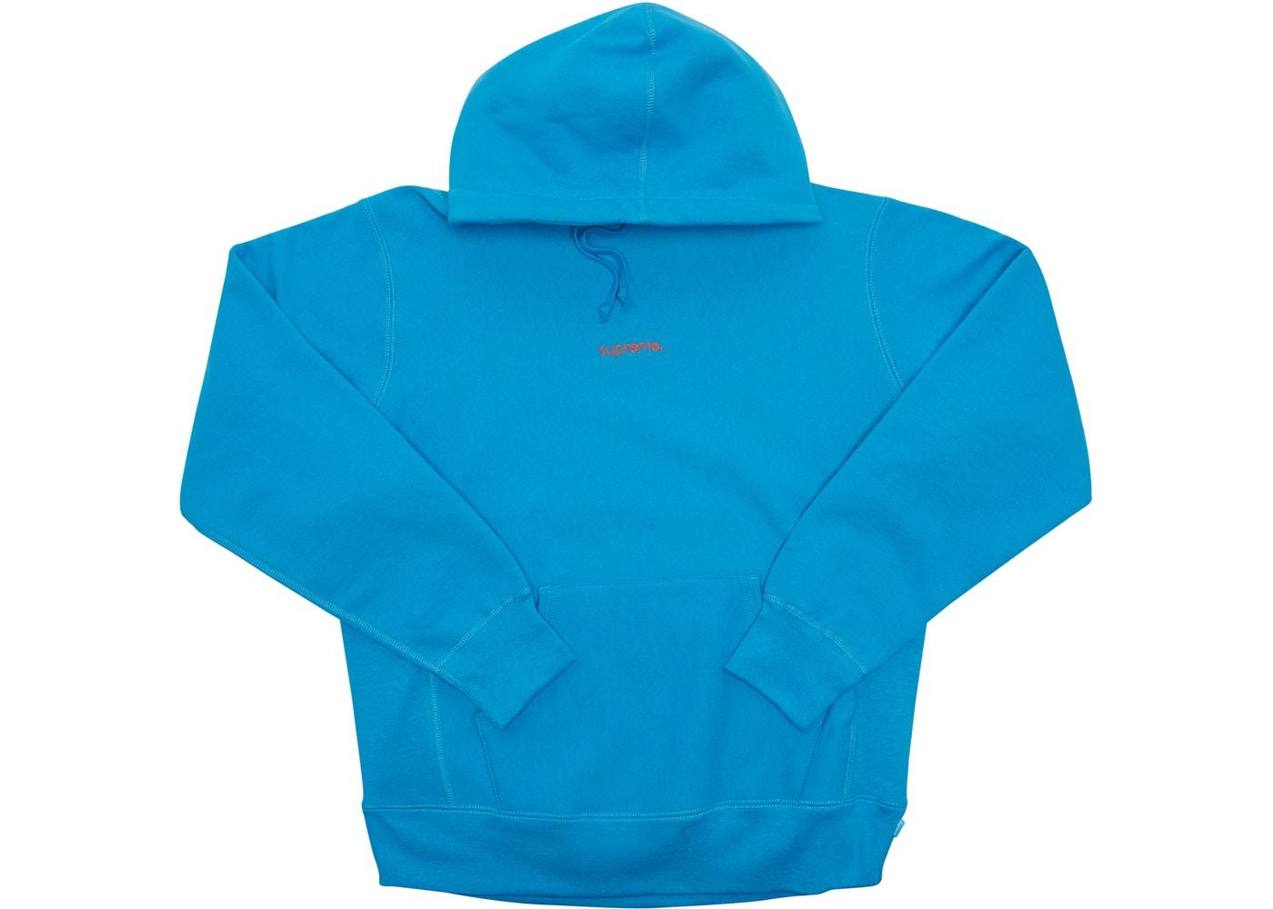 eb1e195f Supreme Trademark Hooded Sweatshirt Bright Royal - FW18