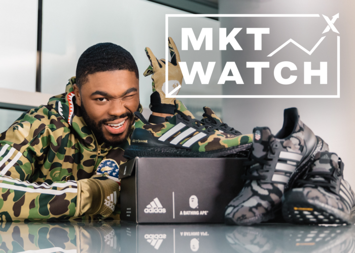 StockX MKT Watch: Boosts Bounce Back, BAPE Plays Football, and Off-White 90s Arrive