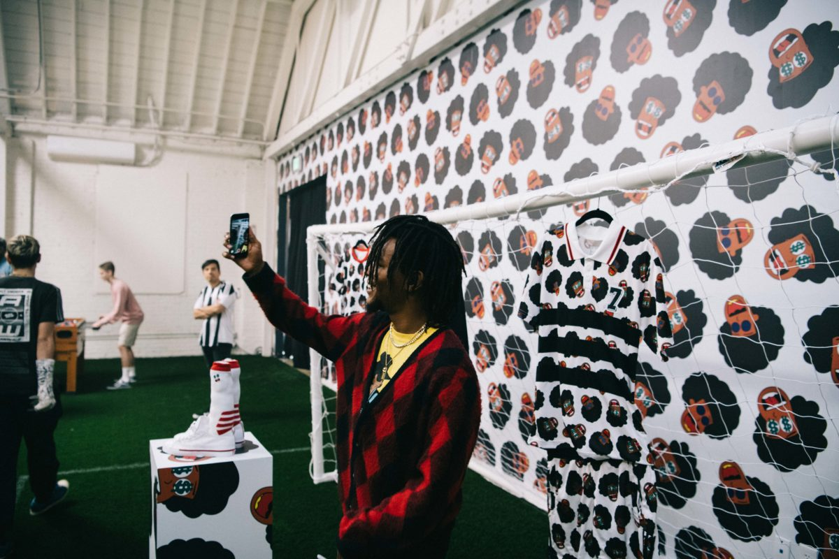 Na-Kel Smith's adidas 3 Rooms Art Experience