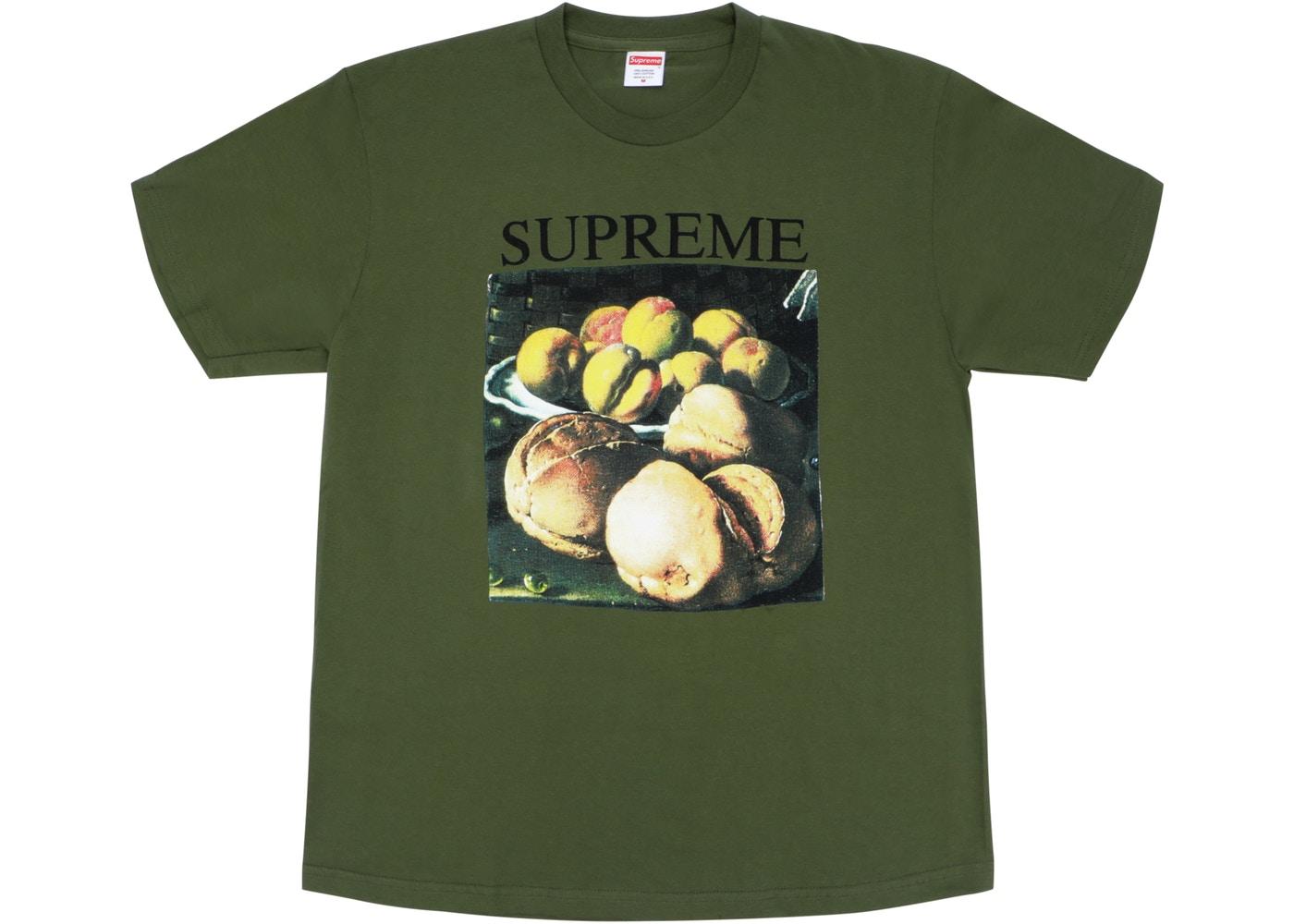 Supreme Still Life Tee Olive