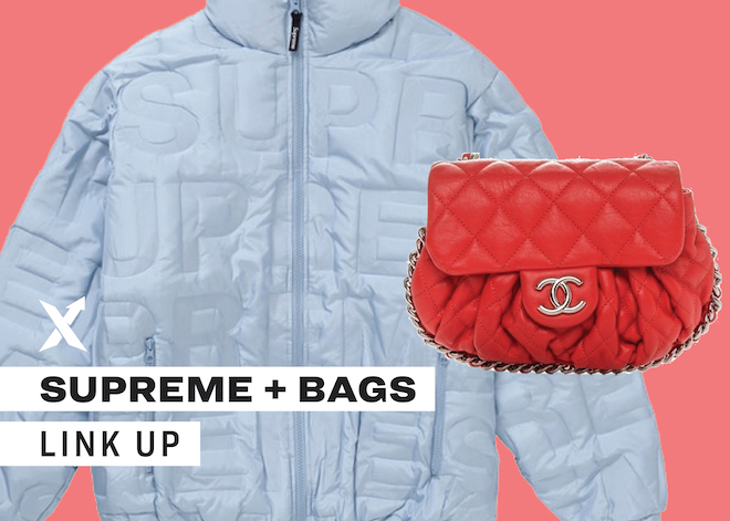 The Supreme + Bags Link Up
