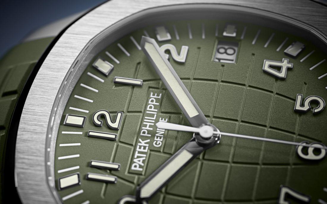 Patek Philippe Introduces Khaki Green Aquanaut 5168g Stockx News