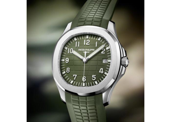 Patek Philippe Introduces Khaki Green Aquanaut 5168G
