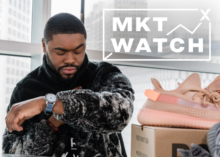 StockX MKT Watch: Yeezy 350 Rebound, Wolf Fleece Wins, and adidas x Game of Thrones