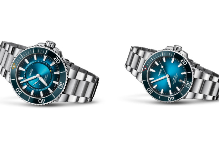 Oris Introduces Pair of Limited Edition Aquis Watches