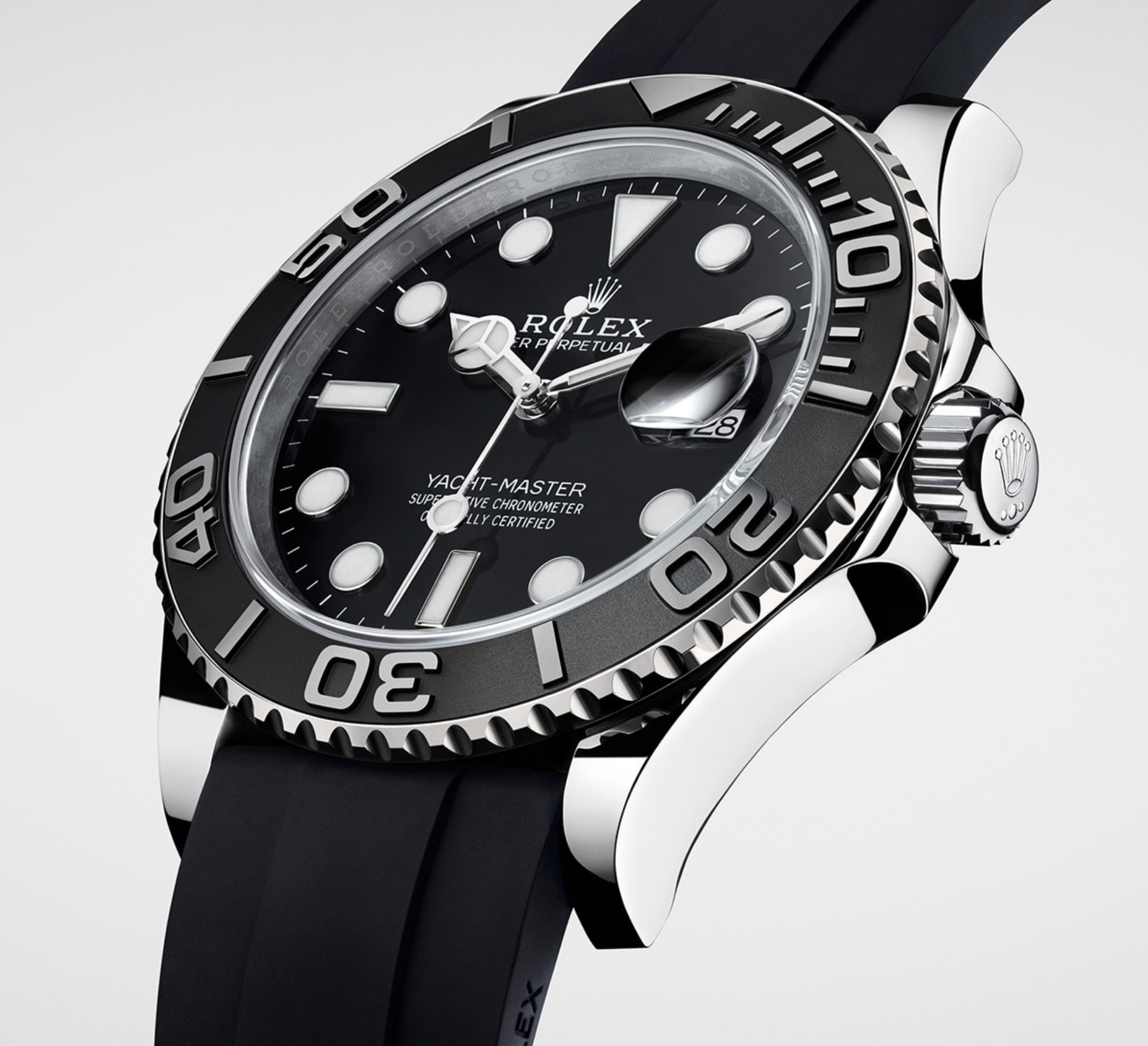 rolex introduces new yacht master 42 on oysterflex stockx news