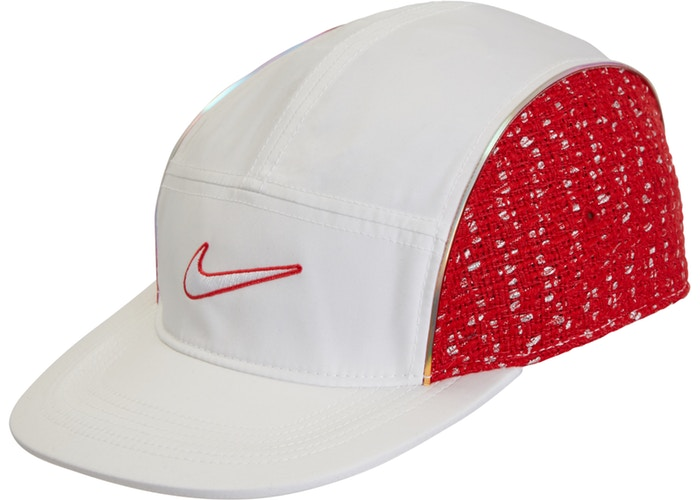 2c8ef9be008 Supreme Nike Boucle Running Hat White Red - StockX News