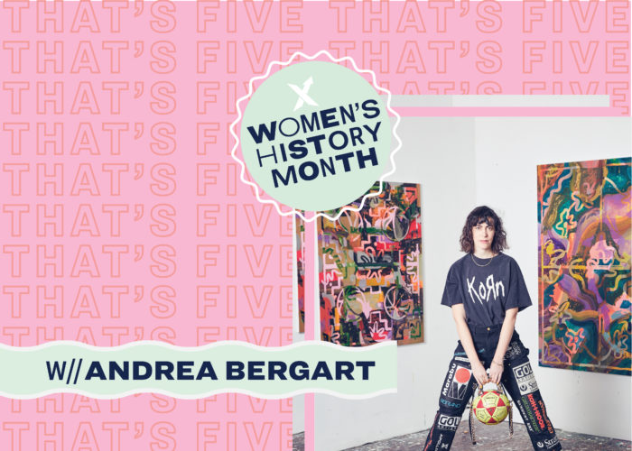 That's Five with Andrea Bergart