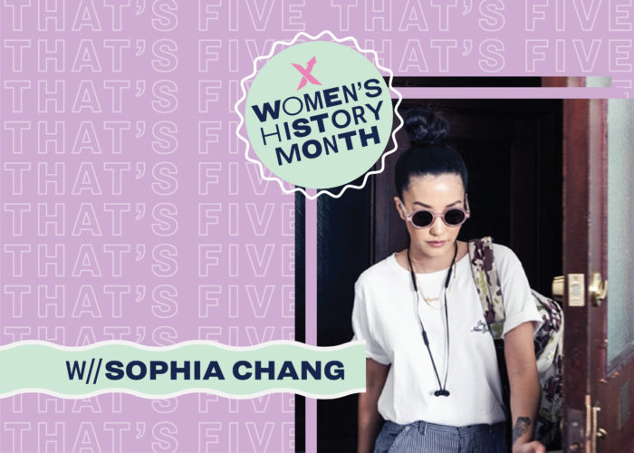 That's 5 With Sophia Chang