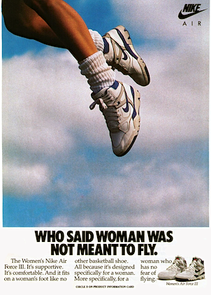 Who Said Woman Was Not Meant To Fly The History Of Nike S Iconic Ad Stockx News