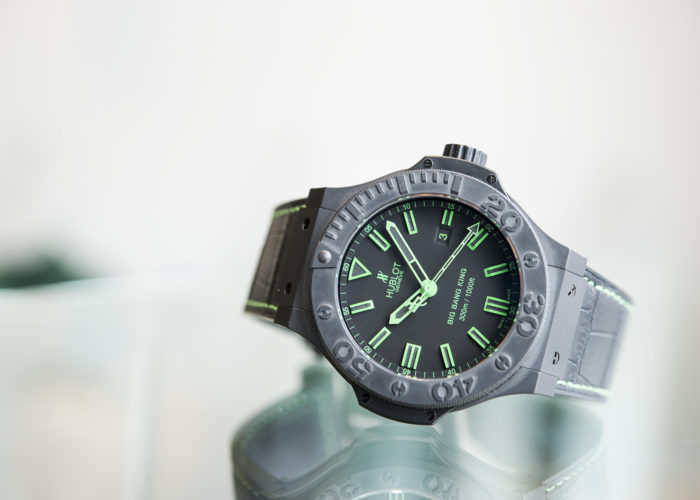 Review: Hublot All Black Green Big Bang King