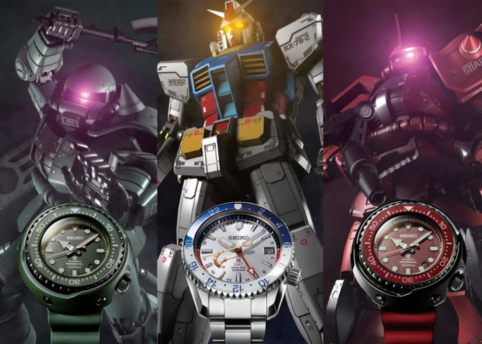 Mobile Suit Gundam Celebrates 40 Years with Seiko Capsule