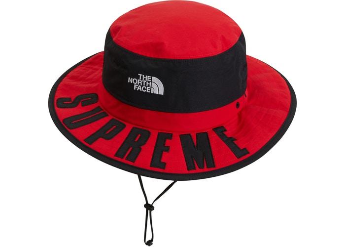 5b108af58 Supreme The North Face Arc Logo Horizon Breeze Hat Red