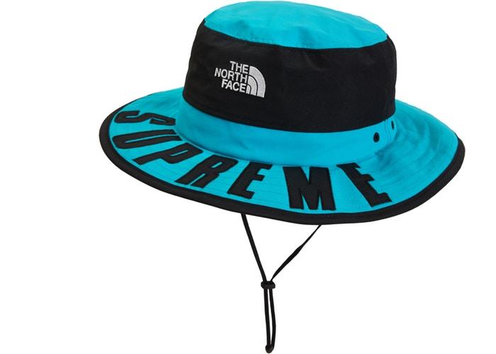 09227688 Supreme The North Face Arc Logo Horizon Breeze Hat Teal