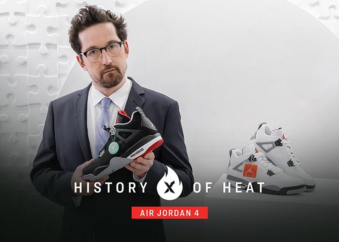 History of Heat Episode 03: Jordan 4 Retro Bred (2019)