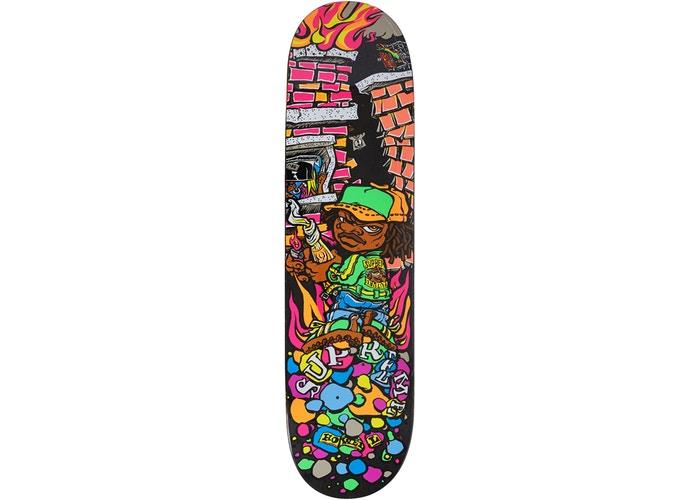 f3e07c41 Supreme Molotov Kid Skateboard Black - StockX News