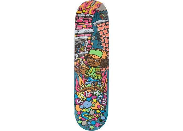 f6612ffd Supreme Molotov Kid Skateboard Deck Teal - StockX News
