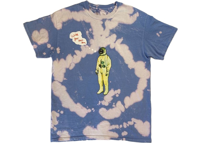 008a7c00 Best Short Sleeve Tee: Astroworld Tour Astronaut Tee