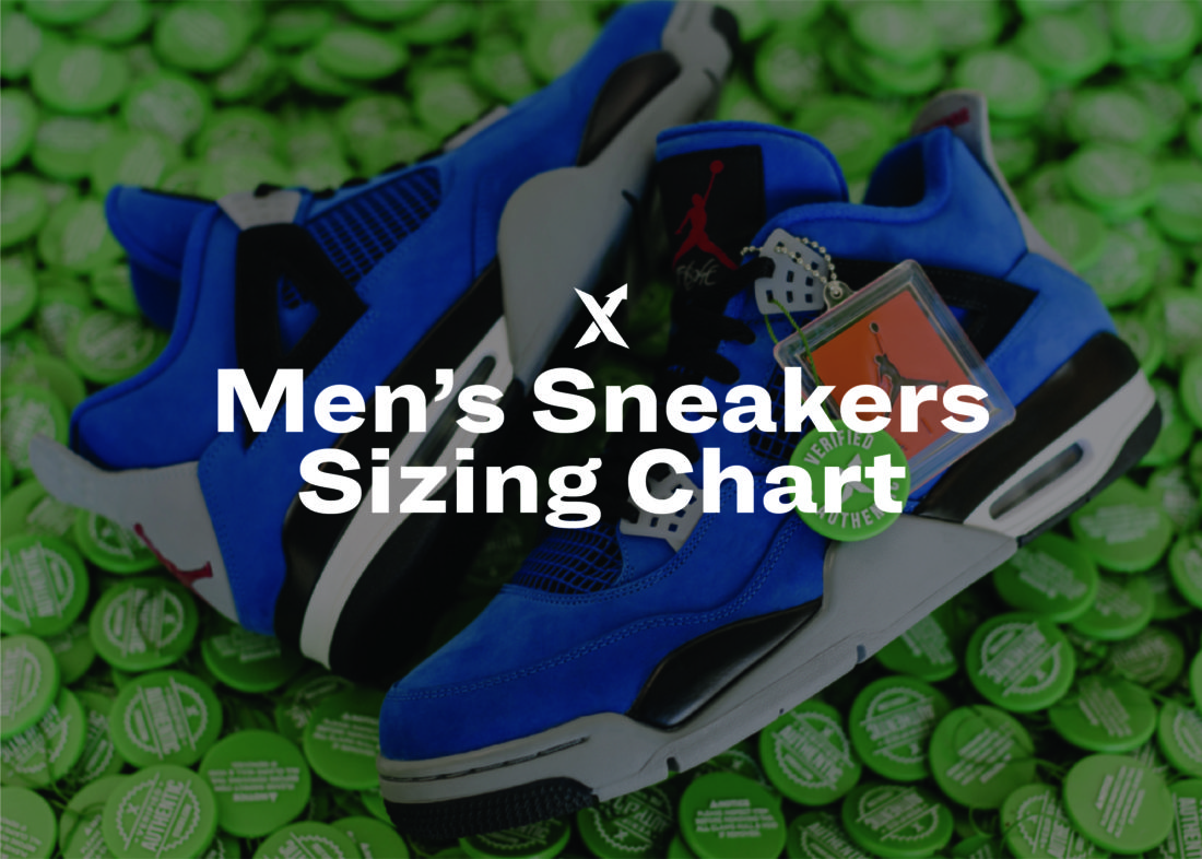efa26022 Men's Sneakers Sizing Chart - StockX News