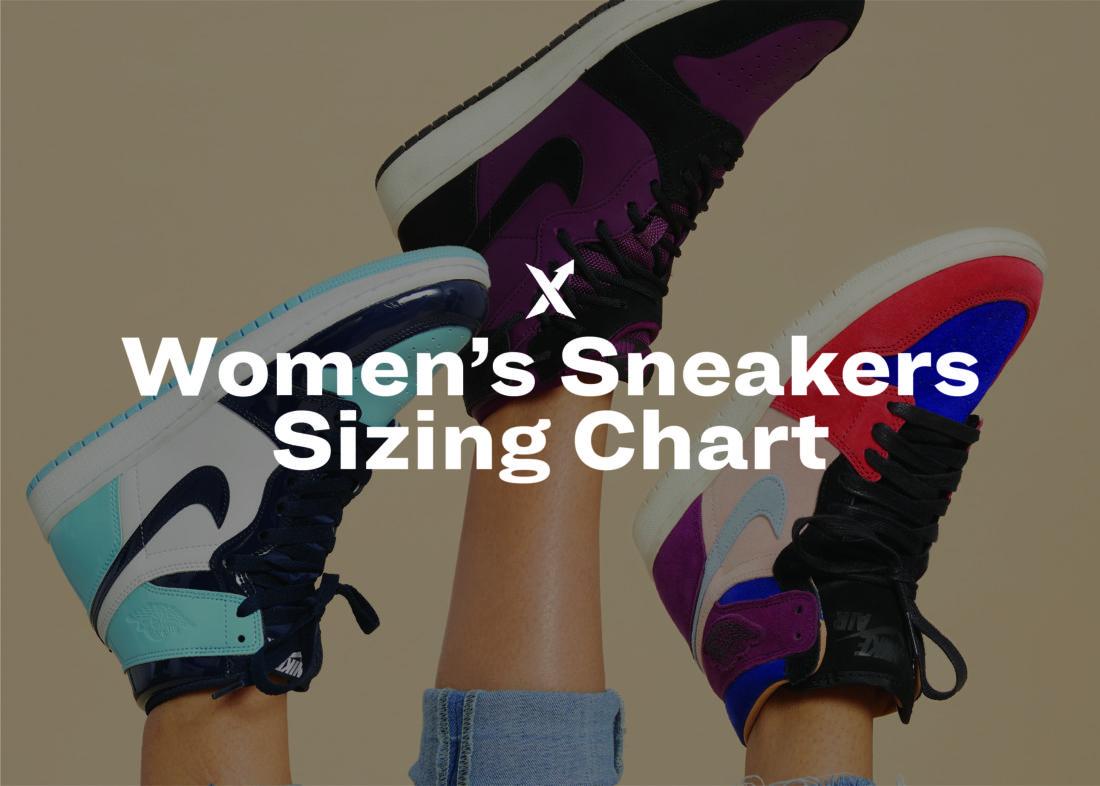 90b1b178 Women's Sneakers Sizing Chart - StockX News
