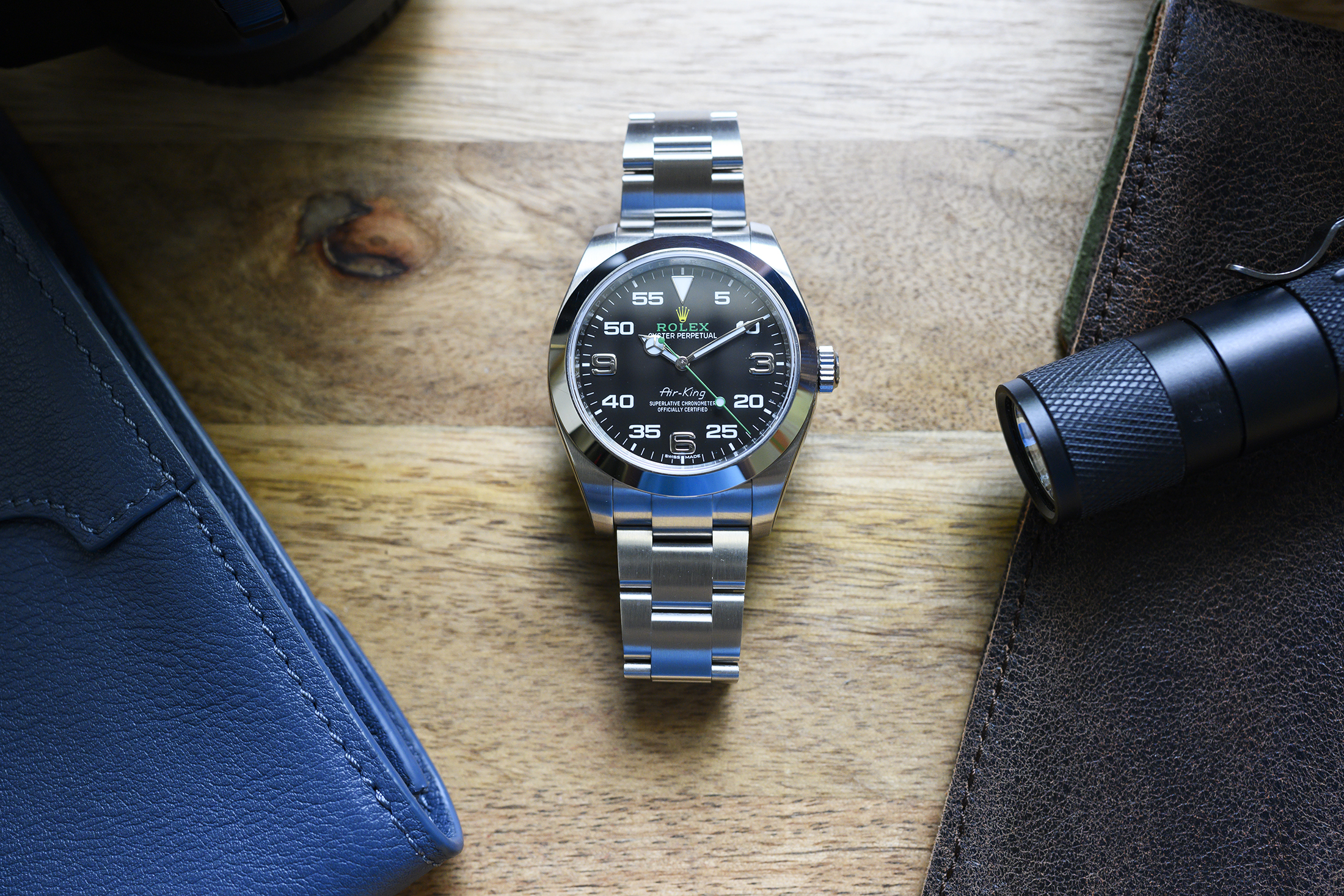 online store 07355 64dc3 In-Depth Review: Rolex Air-King 116900 - StockX News