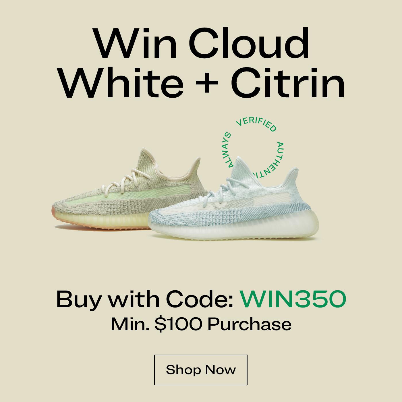 Yeezy 350 Cloud White + Citrin - StockX