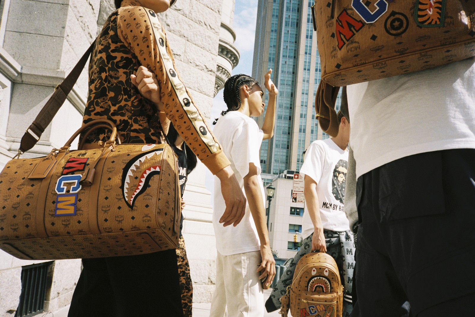 All The Bags From Mcm X Bape Fw19 Stockx News