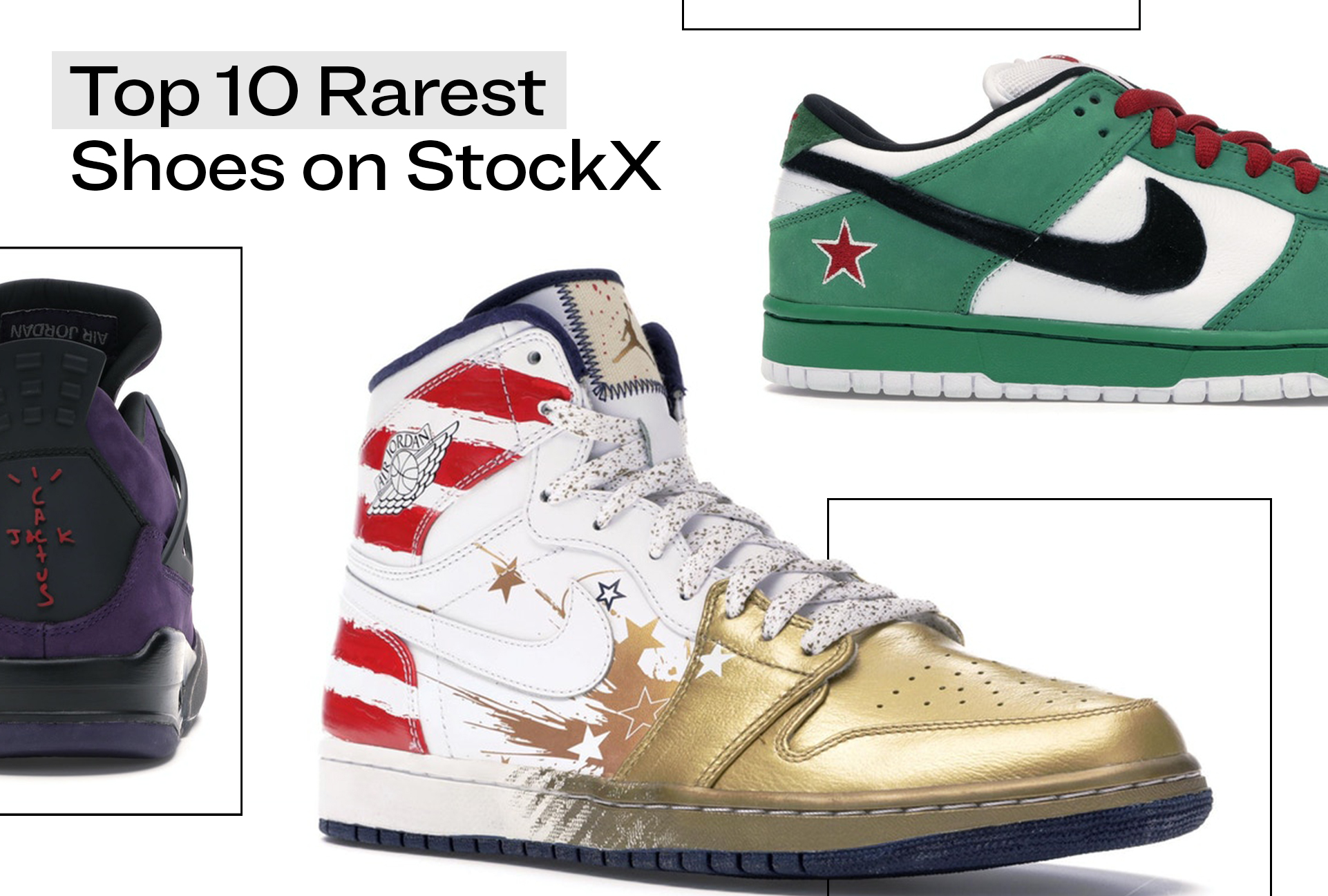The Rarest Shoes on StockX in 2020