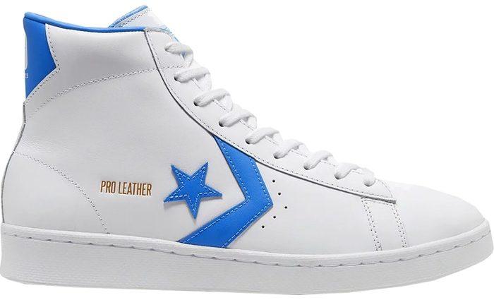 Converse Pro Leather Hi White Coast Blue - last dance