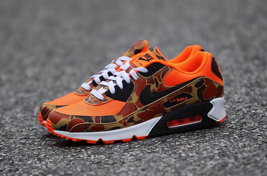air max camouflage rouge