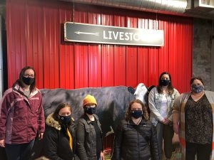 Group tour at the Stockyard Ag Experience museum in Sioux Falls