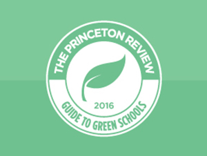 The Princeton Review Honors Stonehill as one of the 361 Most Environmentally Responsible Colleges in the U.S.